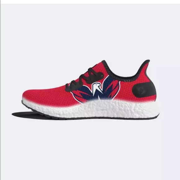 8da6a26a81c Adidas Boost Washington Capitals Stanley Cup Shoes NWT